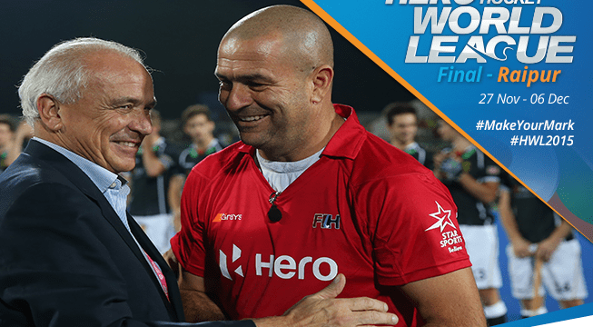 Umpire Nathan Stagno receives Golden Whistle | FIH