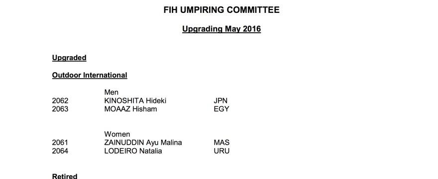 May FIH Upgrades