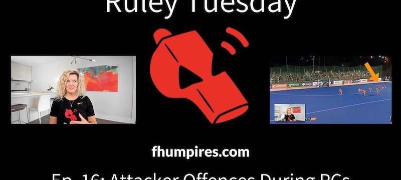 Attacker Offences During PCs | How to Apply the Rules of Hockey | #RuleyTuesday Ep. 16