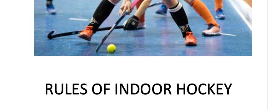 Minor Updates to 2019 Rules of Hockey and Indoor Hockey