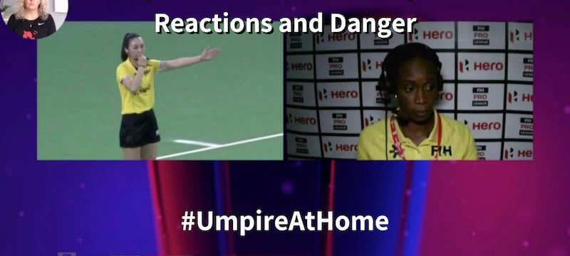 player reactions danger video referral video umpire