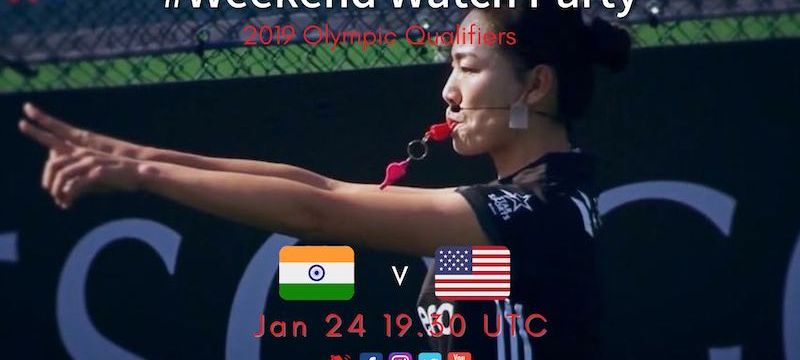 2019 Olympic Qualifiers | W02 INDvUSA | #WeekendWatchParty