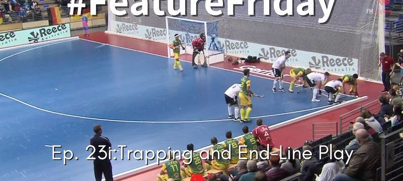 indoor obstruction trapping intentionally off end-line ball placement centre-line restart