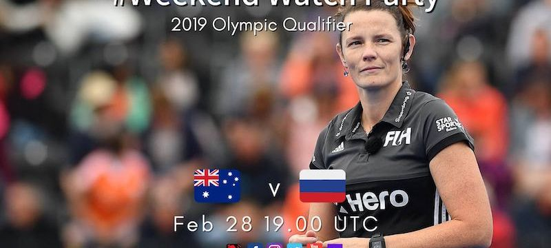 2019 Olympic Qualifier | W01 AUSvRUS | #WeekendWatchParty