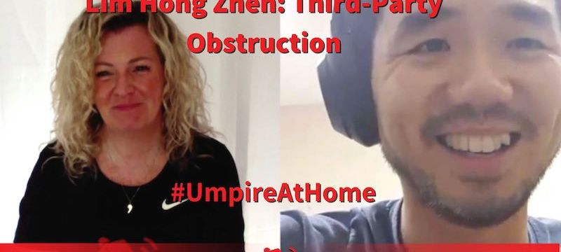Third-Party Obstruction with Lim Hong Zhen | Field Hockey Umpiring Skills | #UmpireAtHome #TBT