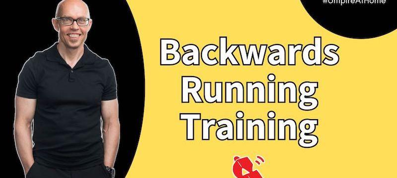 Backwards Running Training with Korey Samuelson | How to Umpire Field Hockey | #UmpireAtHome Ep. 24