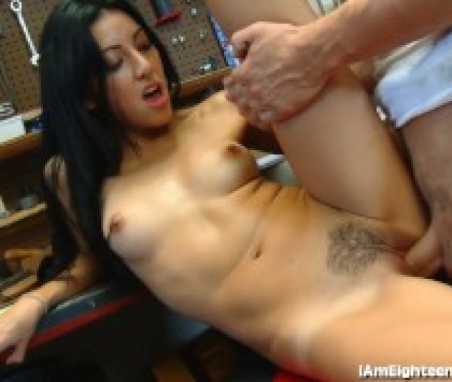 Slutty Teen Fucking Her Mechanic