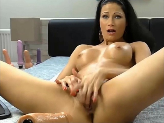 Brunette Hottie Enjoying Her Very First Time With Sex Machine And Squirting Free Porn Videos Youporn