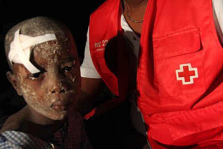 Earthquake in Haiti - Photo: Matthew Marek/American Red Cross