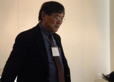 Dr. Paul Watanabe of UMass, Boston. (Photo: John Rudolph)