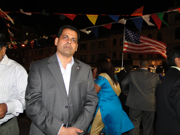 Zahid Syed, a Pakistani American who unsuccessfully ran for a seat in New York's State Assembly in 2006 - Photo: Mohsin Zaheer