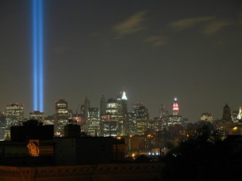A tribute in light