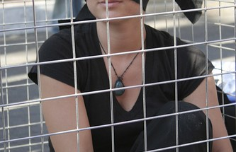 A Protest of Sex Trafficking - Photo: Ari Bronstein