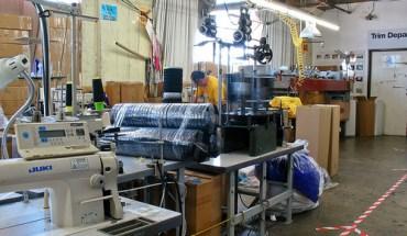 An American Apparel factory