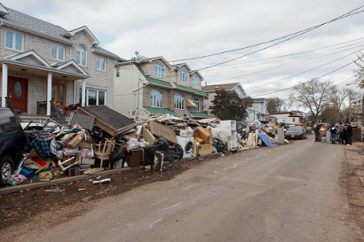 Hurricane Sandy impact in Staten Island (Photo: Flickr/John de Guzman)