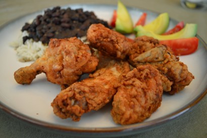Cocina Criolla is back with a new video and a family recipe for chicharrones de pollo. Photo by Marrin Watts