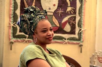 Dòwòti Désir, a Manbo Asogwe in Haitian Vodou. Photo: Rachael Bongiorno