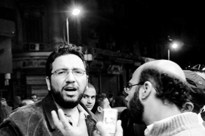 Egyptian writer and satirist, Belal Fadl Credit: Hossam el-Hamalawy