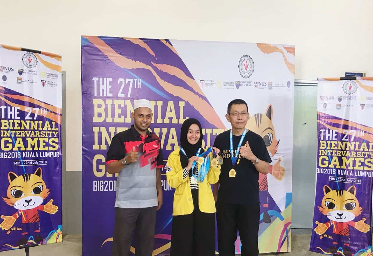 FIA UI Student Winner 1 in The 27th Biennial Intervarsity Games BIG 2018