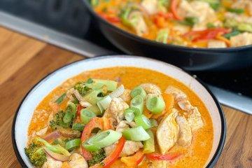 Panang curry med kyckling