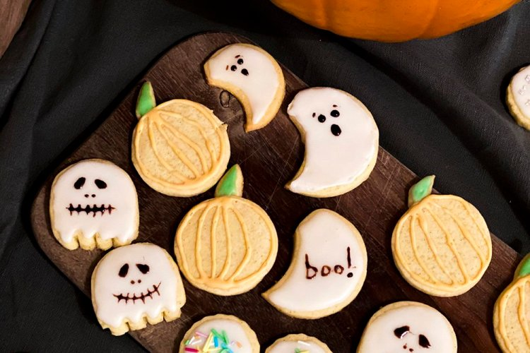 Sugar cookies halloween