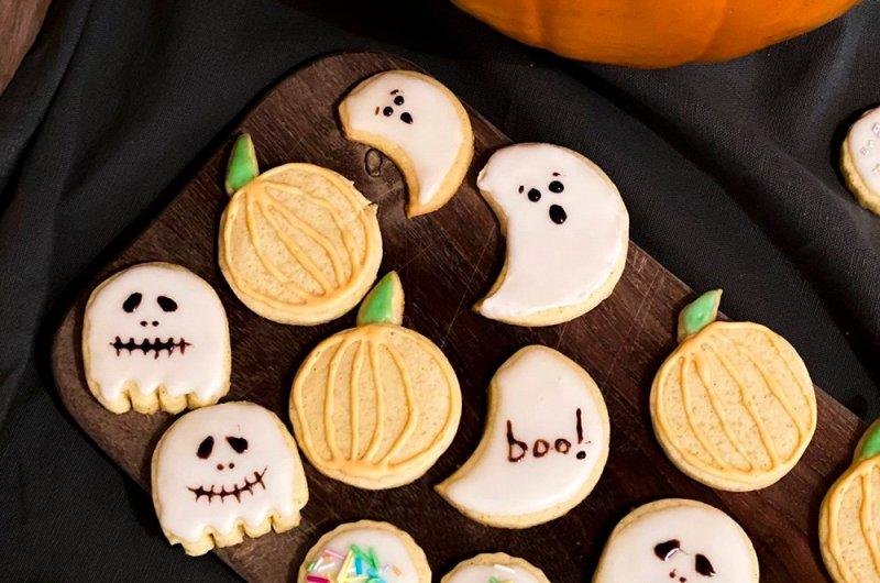 Sugar cookies - vaniljkex med glasyr