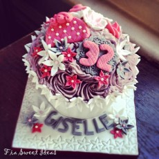 Giant's Birthday Cupcake