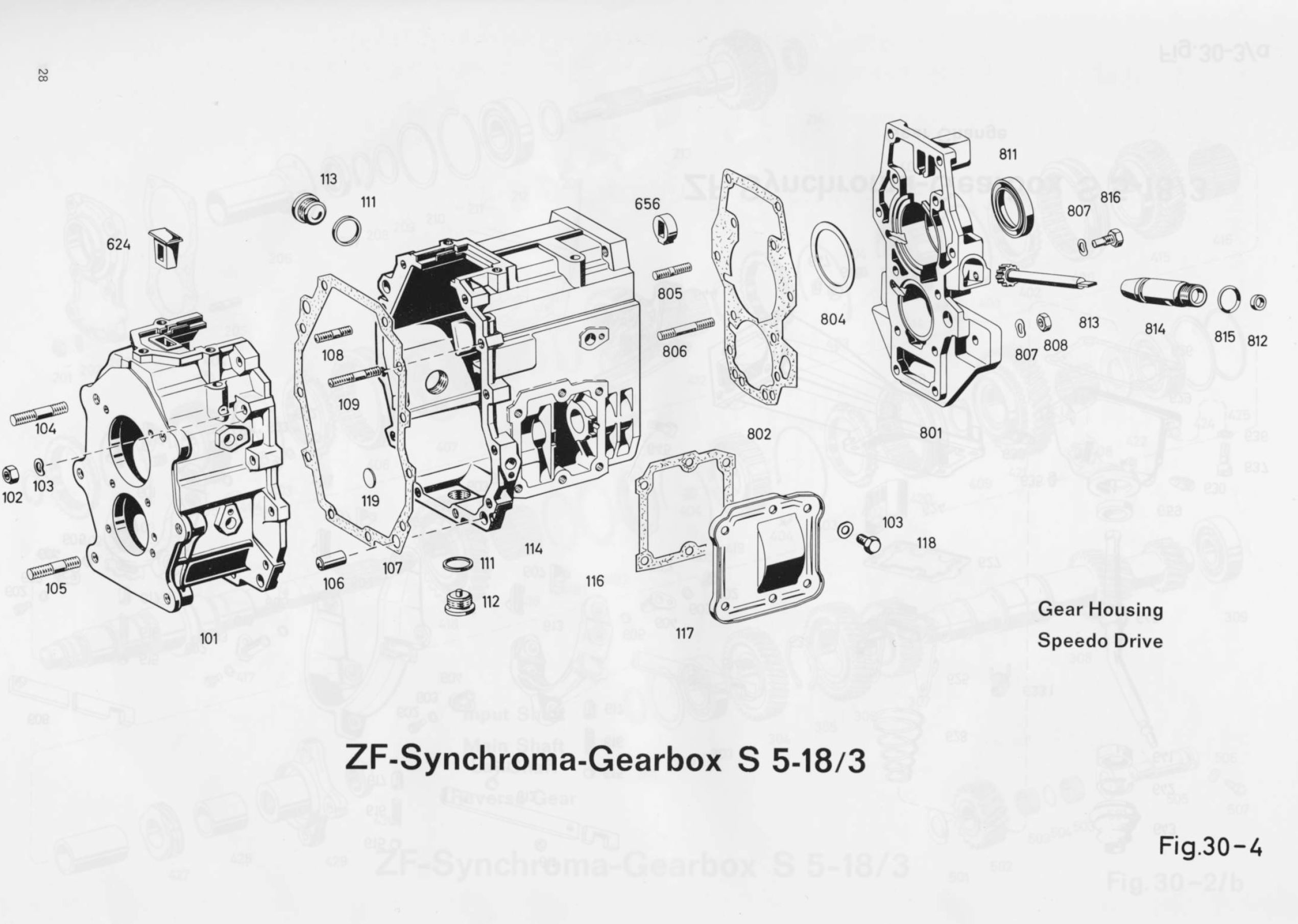 Zf Synchroma Gearbox S 5 18 3