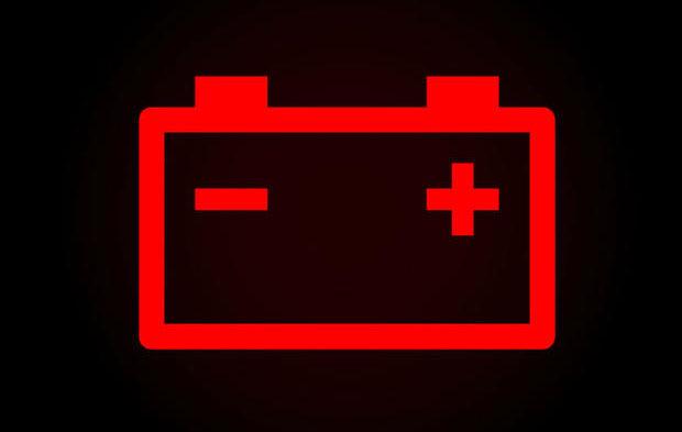 バッテリー エラー表示