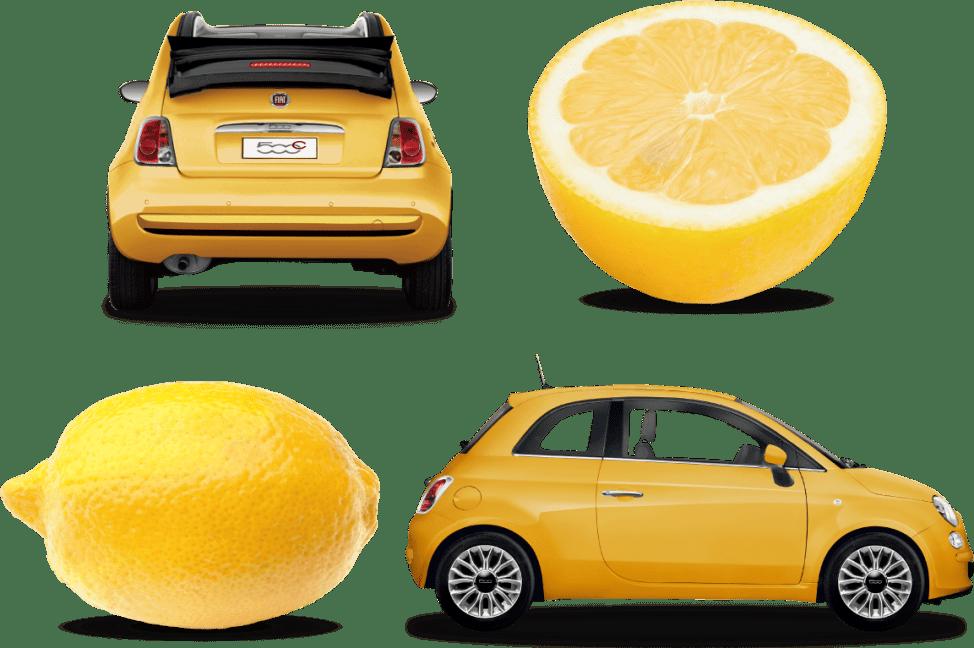 500 Gialla(チンクエチェント・ジャッラ) レモンイエローのビタミンカラーな限定車
