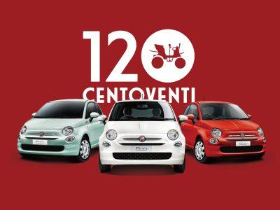 フィアット120周年 記念限定車 チェントヴェンティ Centoventi