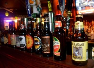 Fibber's Beer Selection