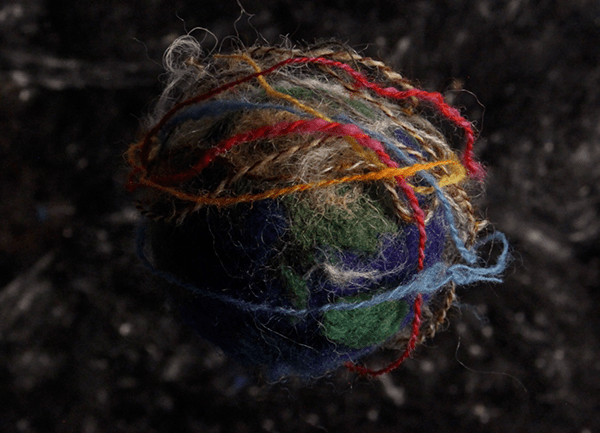 "Andrea Love's ""Revolution"" film about spinning yarn"