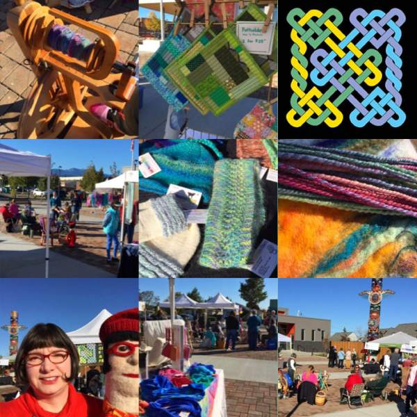 2015 Fiber Arts Festival on the Sequim Civic Plaza