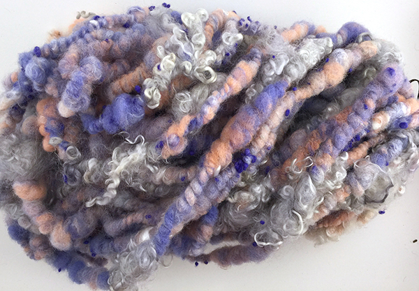 Handspun Yarn by Leslie Hoex