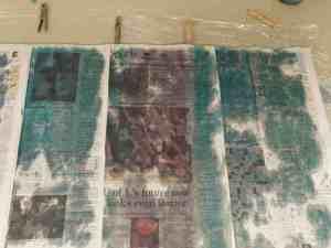How to hand paint yarn, Kentucky Blue Fiber Co.