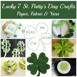 7 St. Patricks Day Crafts, Fiberartsy.com