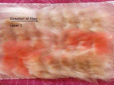 Add layers of wool