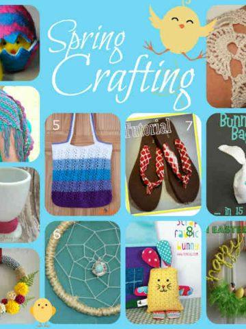 Crafts for Spring, Fiberartsy.com