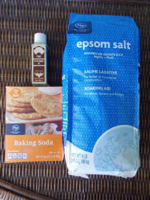 Peppermint Bath Salt Recipe, Fiberartsy.com