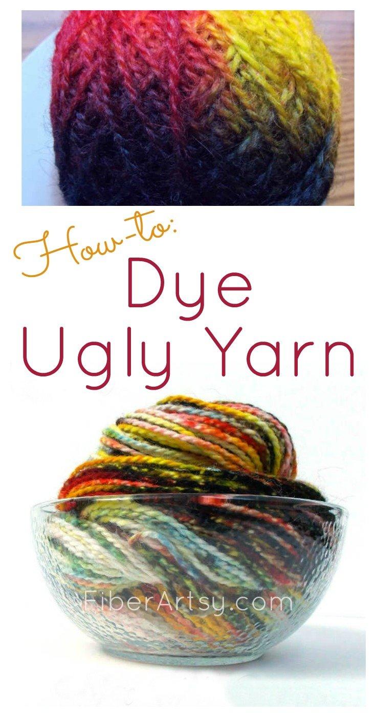 Learn how NOT to dye yarn