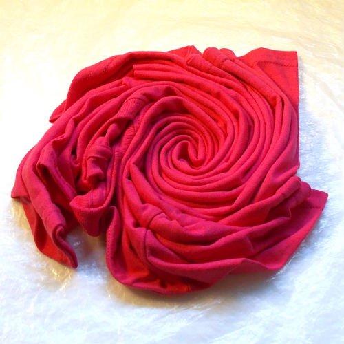 How to bleach dye a shirt, spiral pattern