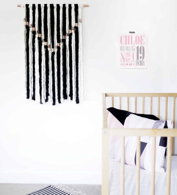 DIY Yarn Wallhanging