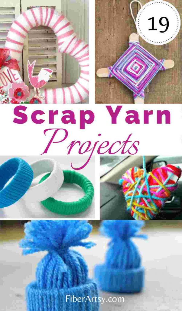 19 Scrap Yarn Projects