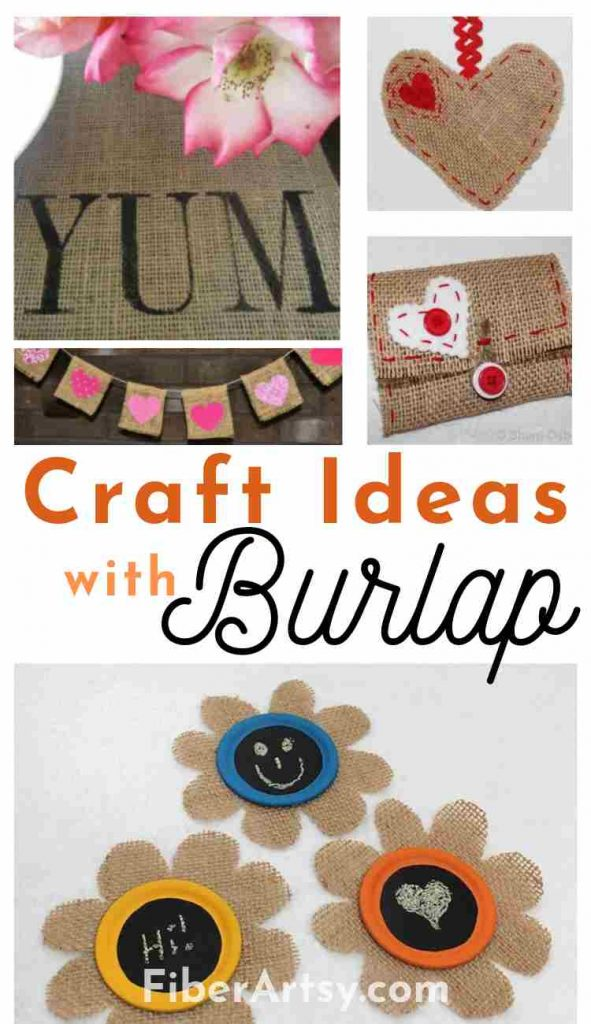 Craft Ideas for Fall and Thanksgiving with Burlap