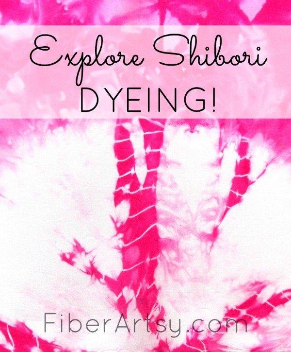 Shibori Fabric Dyeing, a FiberArtsy.com Tutorial