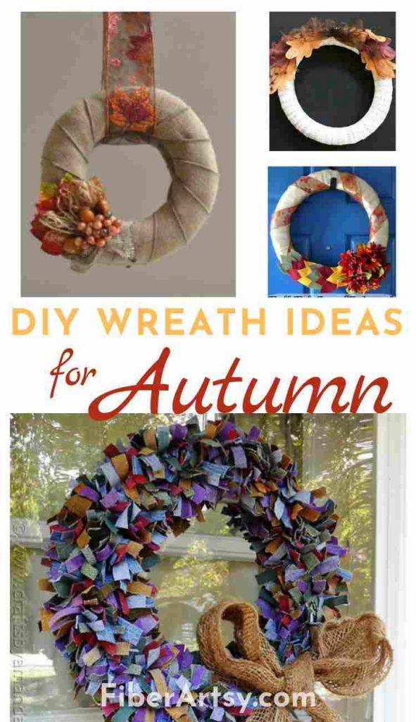 DIY Wreath Ideas for Fall and Autumn