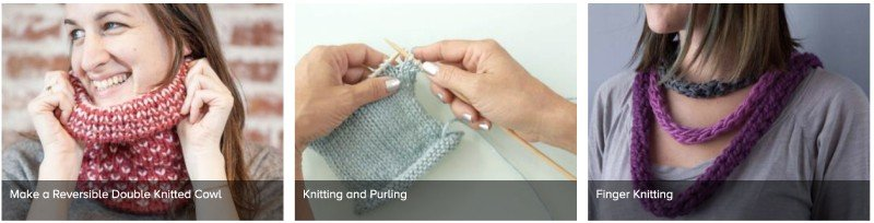 online knitting classes gift idea