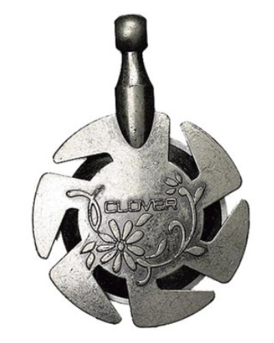 Yarn cutting pendant silver - gift ideas for knitters and crocheters