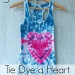 How to Tie Dye a Heart